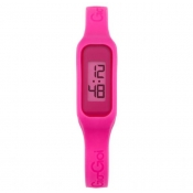 gio goi ladies pink dial watch