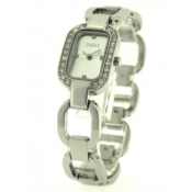 oasis ladies silver coloured dial