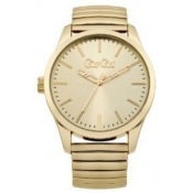 gio goi ladies gold dial watch