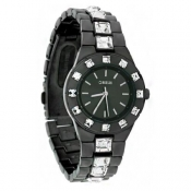 morgan ladies black dial watch