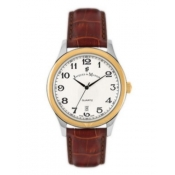 jacques du manoir men's white dial watch