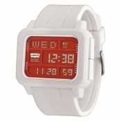 levi's unisex red lcd watch