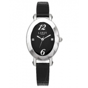lipsy of london ladies black dial watch