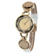 french connection ladies gold dial watch