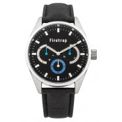 ben sherman men's black multi dial watch