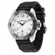 timberland men's silver coloured dial watch