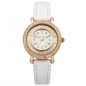 lipsy london ladies white dial watch