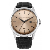 french connection men's copper dial watch