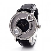 lipsy london ladies black dial watch