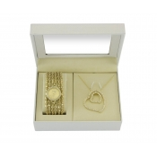 time design ladies bracelet and watch