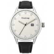 frietrap men's silver dial watch