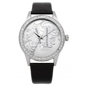 morgan ladies white dial watch