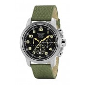 aviator stainless steel stunning multi dial watch
